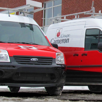 Wraps partiels de la flotte de véhicules du Groupe Cameron