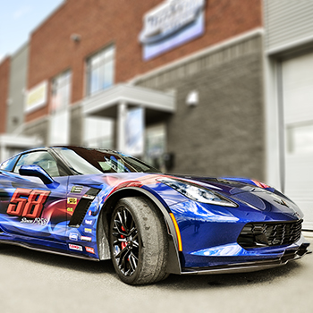 Turnbull Specialities Limited Corvette Wrap