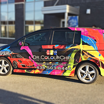 Dr ColourChip Car Wrap