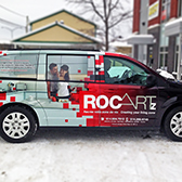 Wrap complet d'une Caravan pour RocArtz