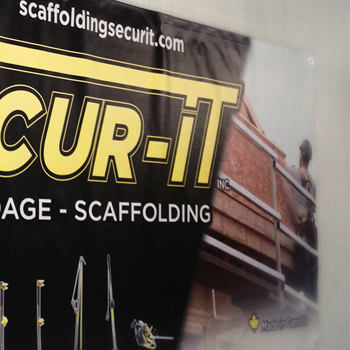 Secur-It Vinyl banners