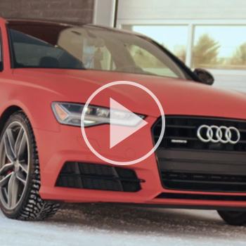 Wrap d'une Audi A6 S Line