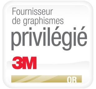 Fournisseur de graphismes privilégié Or 3M